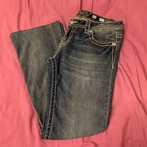 Miss Me medium wash boot cut jeans size 31